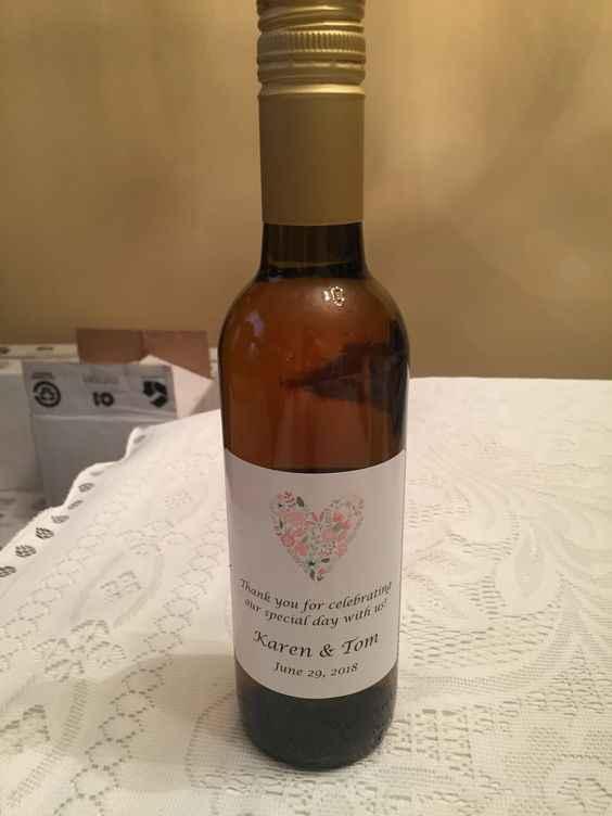 wine favors