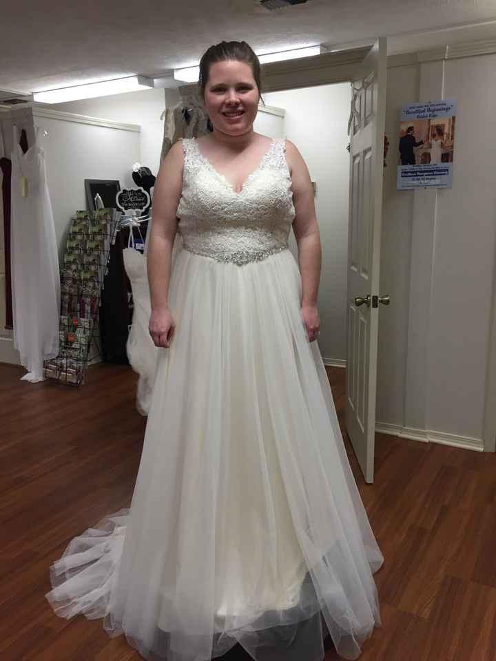 Found the dress - 1