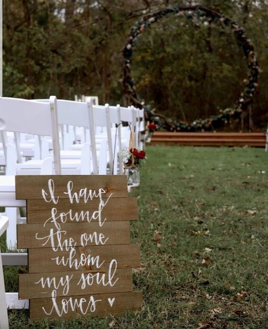 Let's see where you're getting married! Show off your wedding venue!! 24