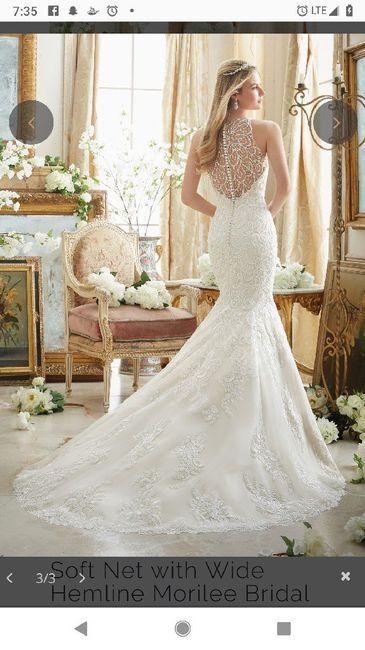 Fall wedding dress inspo 13