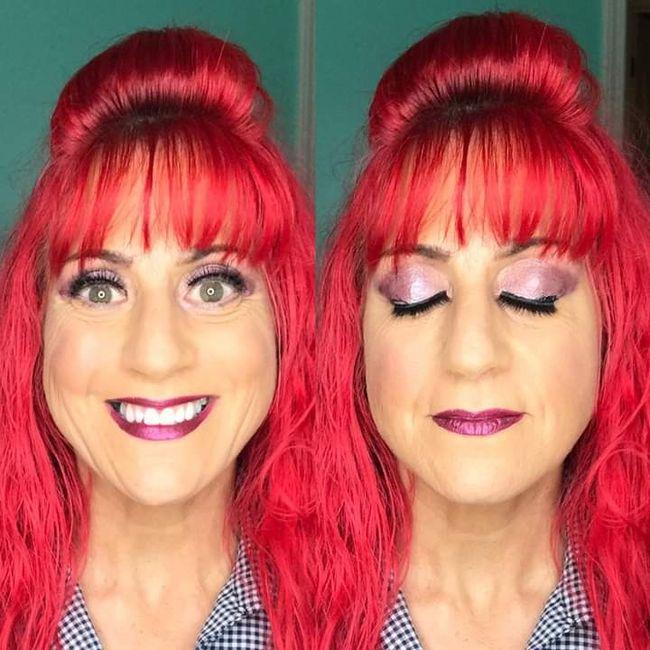 12 days to go, Makeup trial, success:) 1