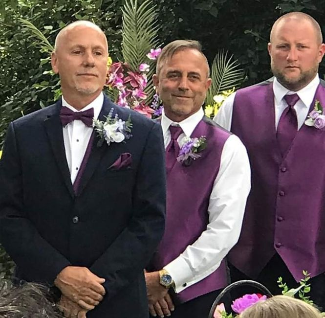We did it! Non pro bam wedding pictures 12