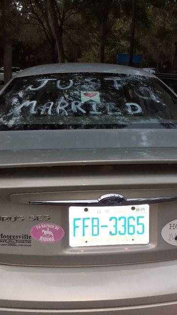 A Mrs. at last!  R&R Honeymoon. 1