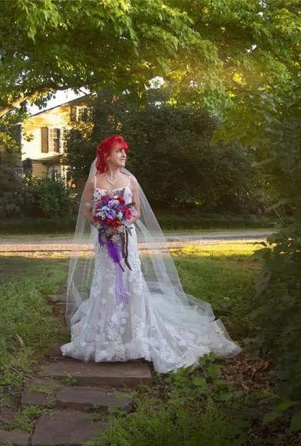 Petite brides Show your dresses! 6