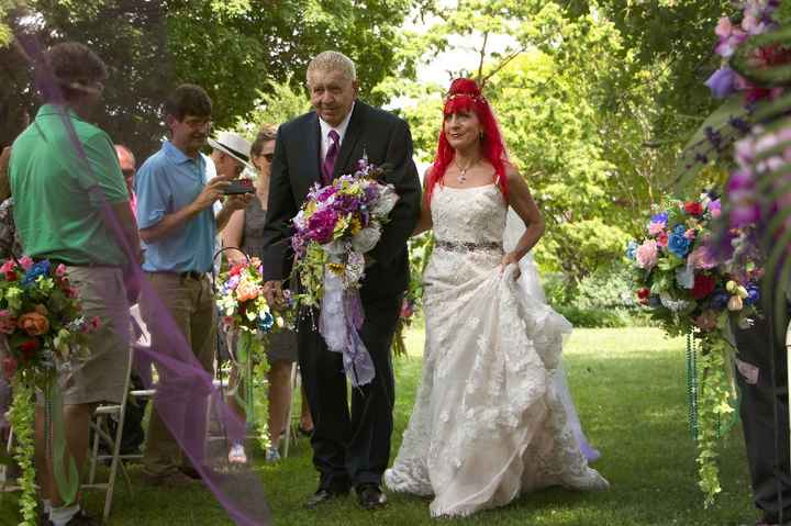 Special person walking you down the aisle - 1