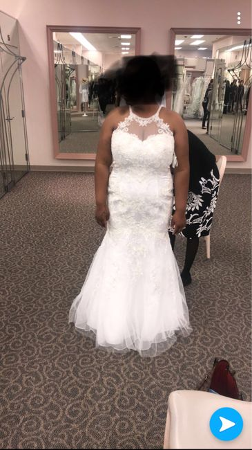 Wedding dress regret 1