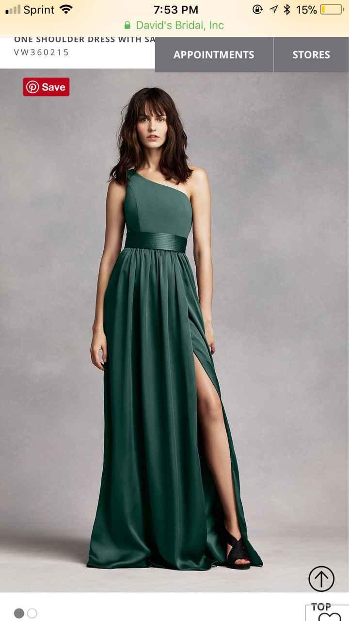Maid of Honor dress!! - 1