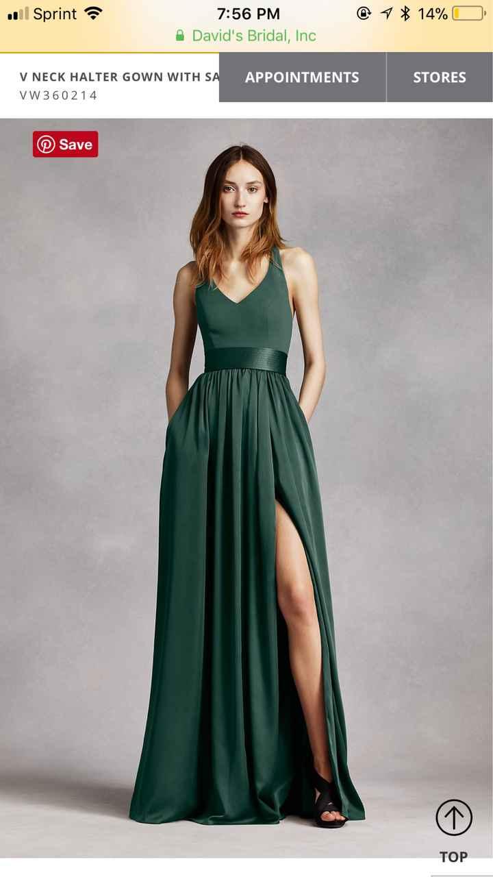Maid of Honor dress!! - 2