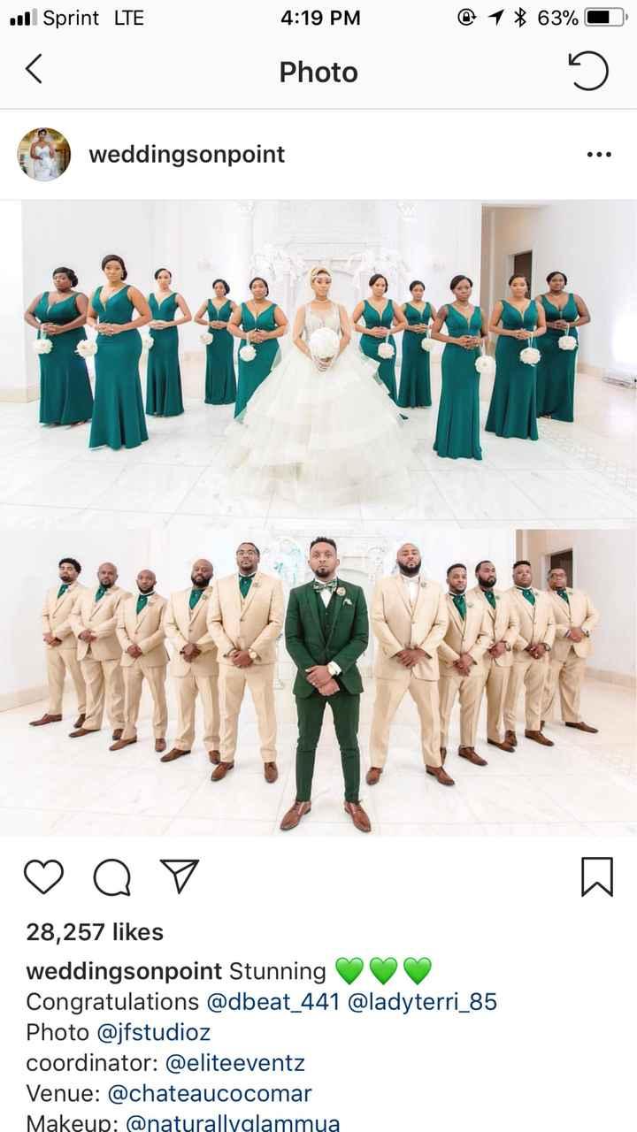 Bridesmaids Dress Color - 2