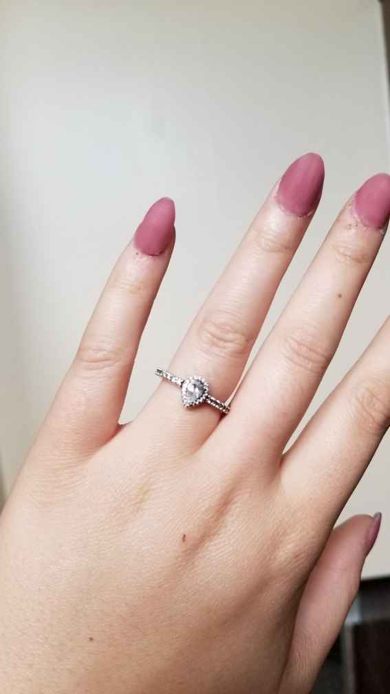 Small/tiny engagement and wedding rings? Let's show them off! - 1