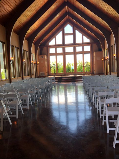 Where are you getting married? Post a picture of your venue! 8