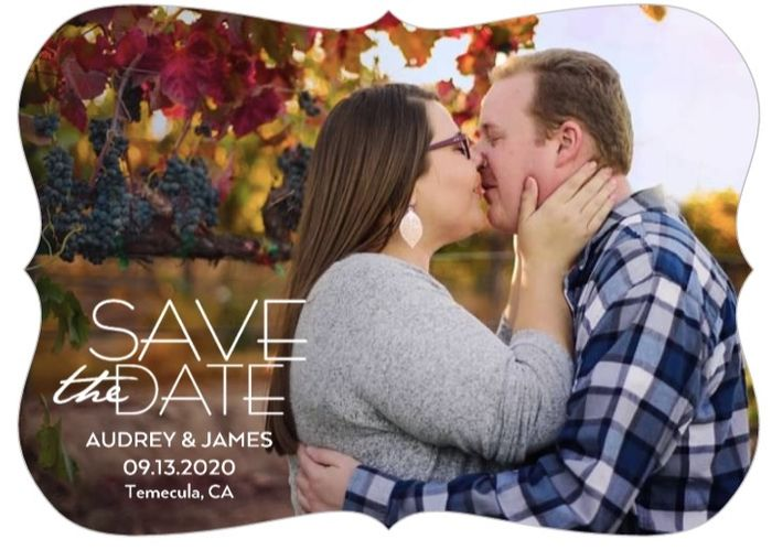 How many pictures did you use on your Save the Dates? 8