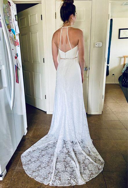 Show Me Your Azazie Wedding Dress! 1