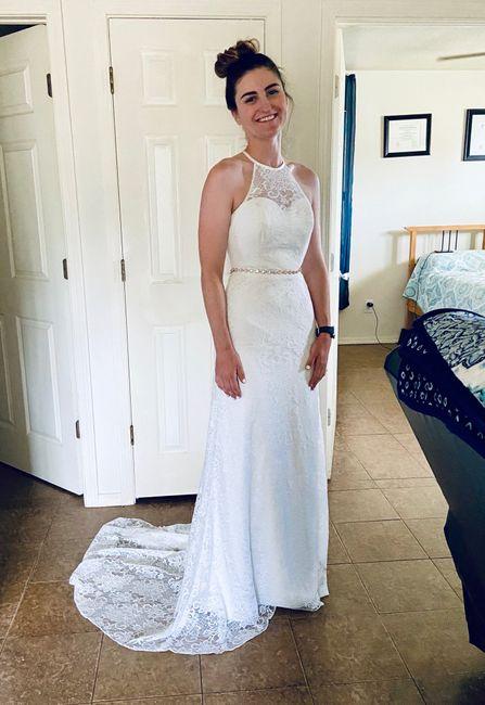 Show Me Your Azazie Wedding Dress! 2