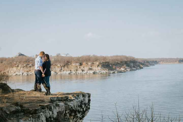 Admidst the Covid-19 panic, post your favorite picture from your engagement shoot. - 1