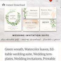 Etsy Wedding Invitations - 1