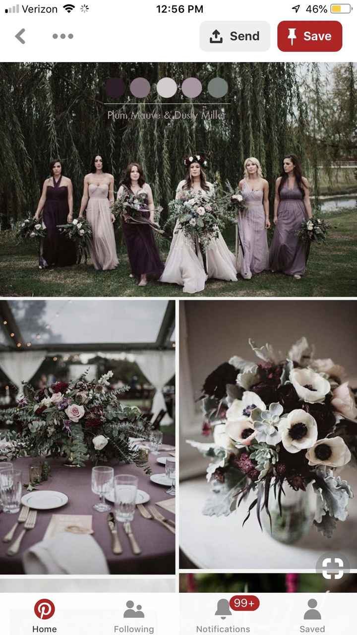 Boho inspired Fall Wedding Colors? - 1