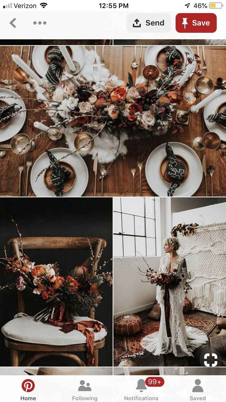 Boho inspired Fall Wedding Colors? - 4