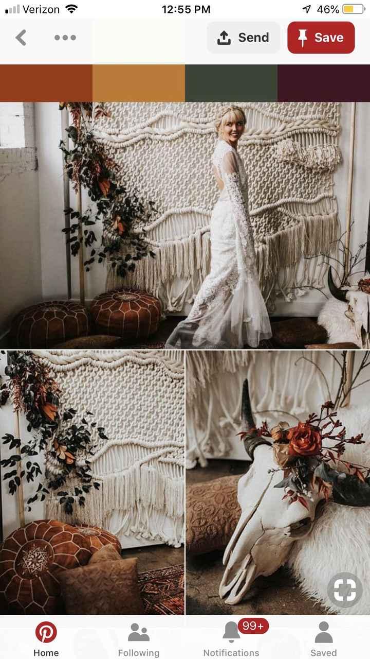 Boho inspired Fall Wedding Colors? - 5