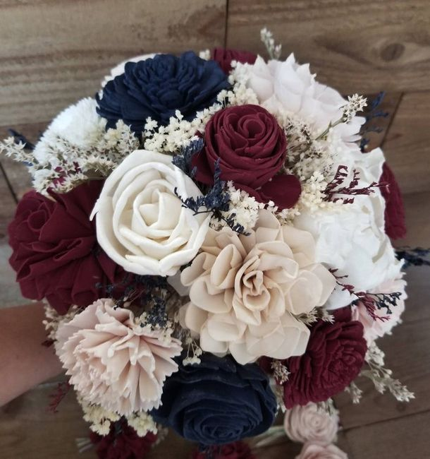 Bridal Bouquet: Color or White? 10