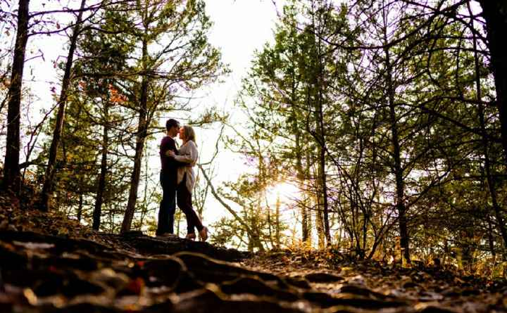 Admidst the Covid-19 panic, post your favorite picture from your engagement shoot. - 2
