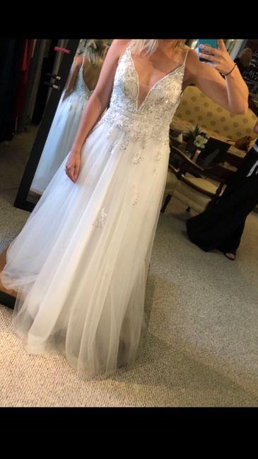 Wedding Dress.. actually a prom dress 😓 1