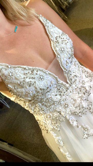 Wedding Dress.. actually a prom dress 😓 2