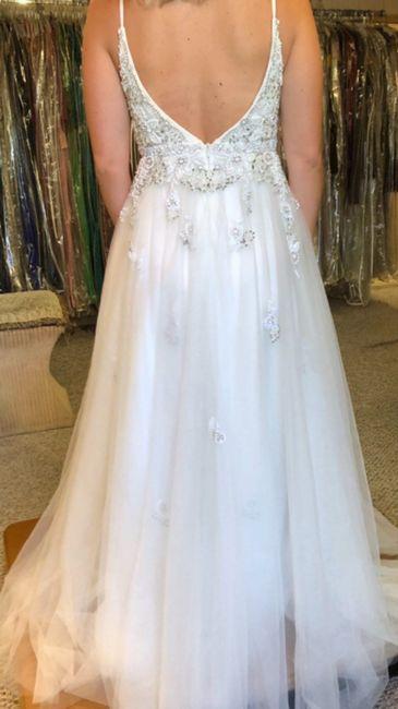 Wedding Dress.. actually a prom dress 😓 3
