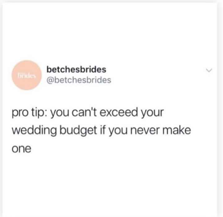 What is your wedding budget? - 1
