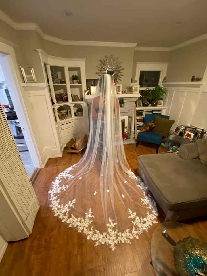 Affordable wedding veils - 1