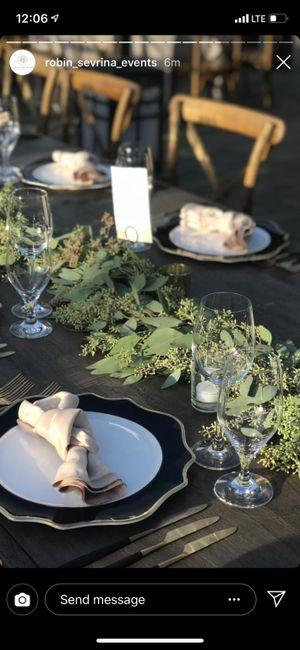 Rectangular Reception Tables 1