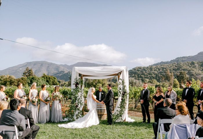 Chuppah and view? 1