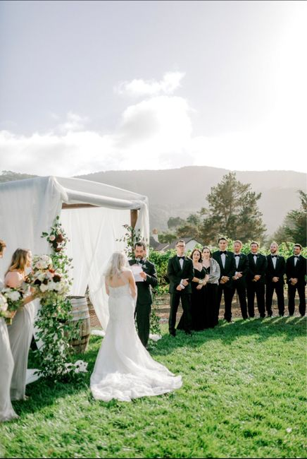 Chuppah and view? 4
