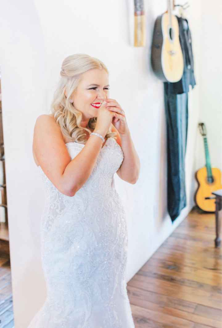 Crying at your wedding? - 2