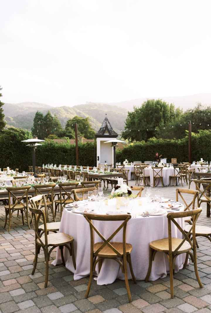 Bride with outdoor Fall weddings. What type of decor are you going with? - 3