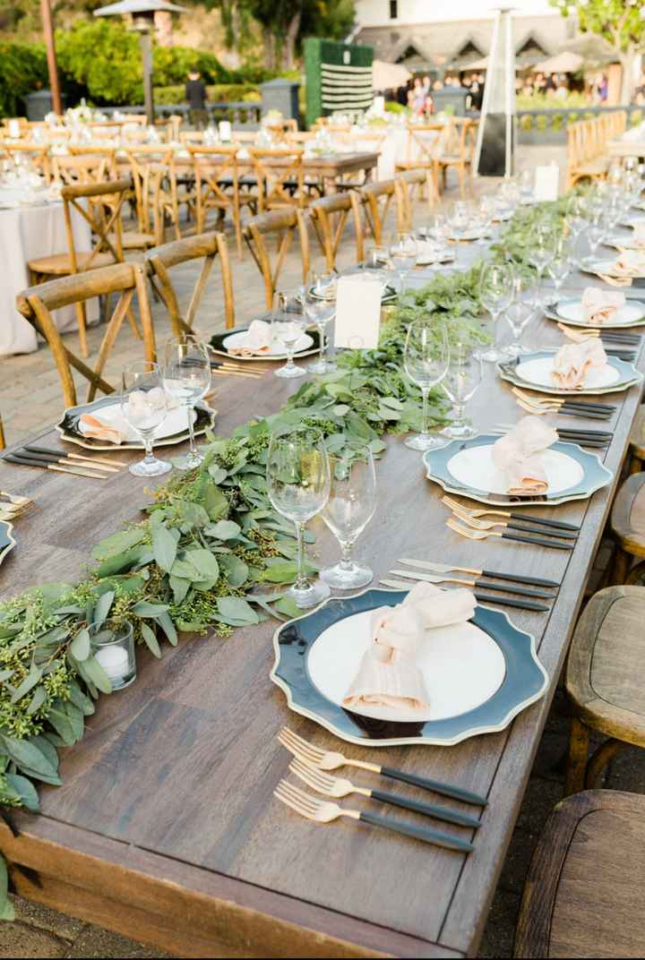 Bride with outdoor Fall weddings. What type of decor are you going with? - 4