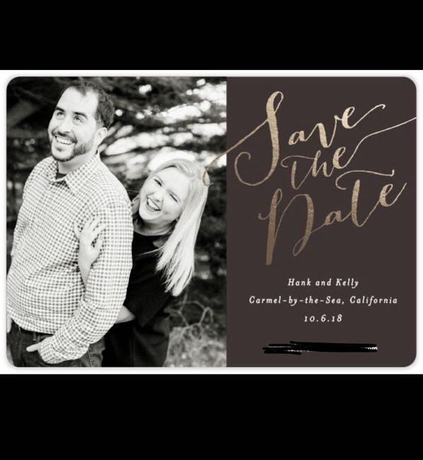 lets see your save the date Pictures! 12