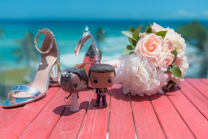Tell me about the special touches at your wedding! 13