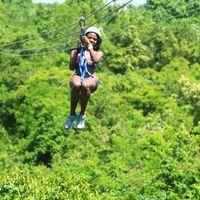 Zipling at Scape Park, Punta Cana