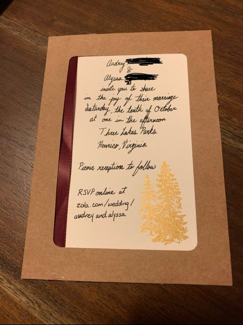 Invitations ordered, show me yours! 4