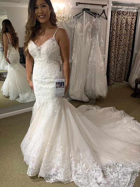 Mermaid/trumpet wedding gowns! 12