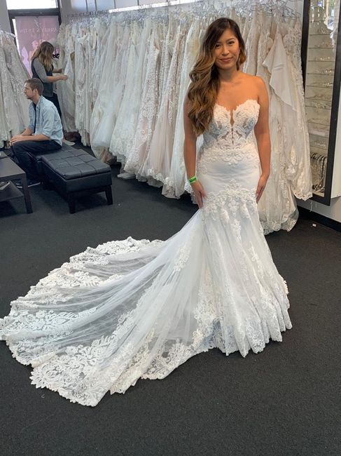 Mermaid/trumpet wedding gowns! 13