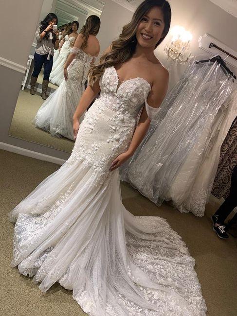 Mermaid/trumpet wedding gowns! 10