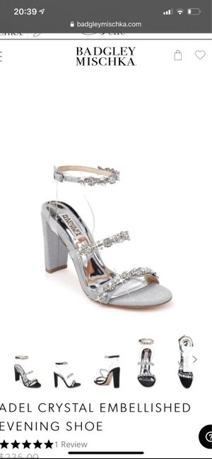 Wedding day shoes 6