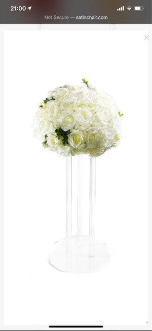 Fake floral centerpieces 2