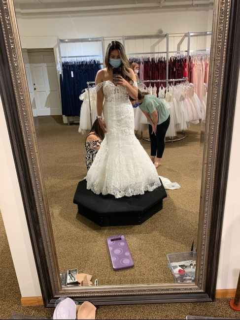 Shopping for a new wedding dress 2