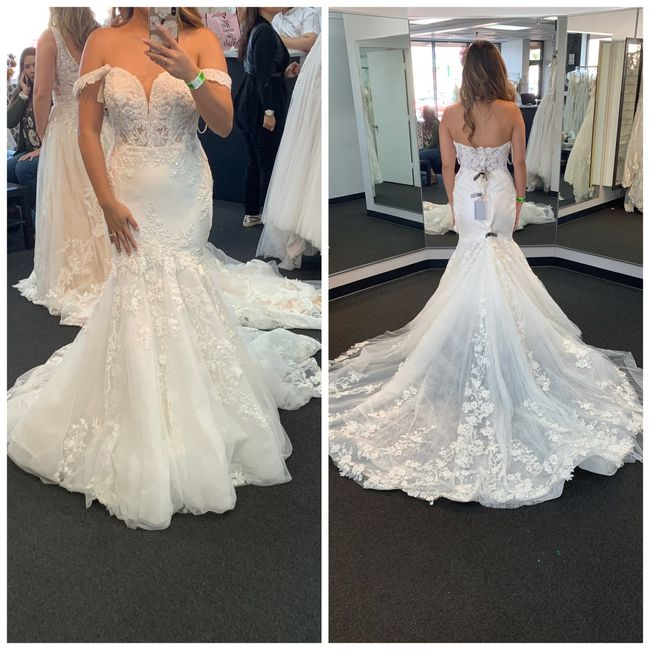 Shopping for a new wedding dress 3