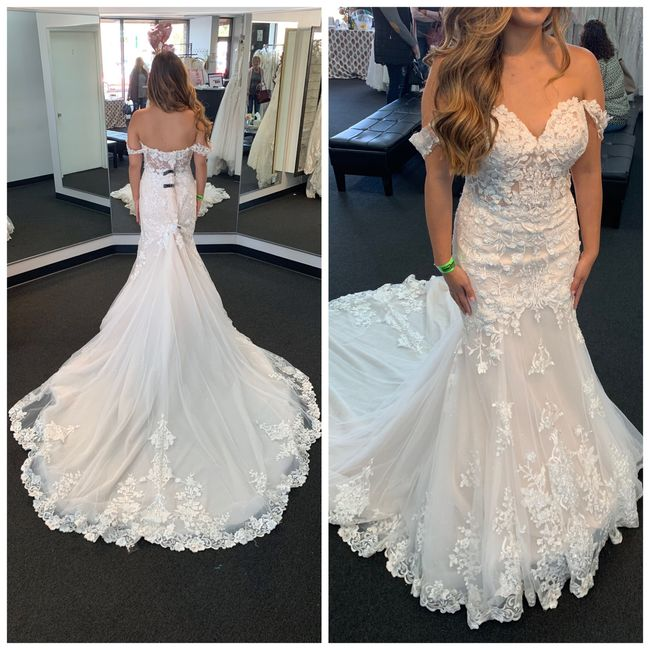 Shopping for a new wedding dress 1