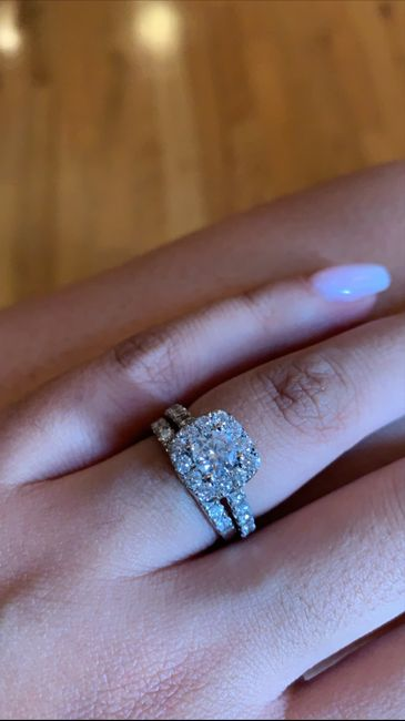 Show me your wedding ring set 7