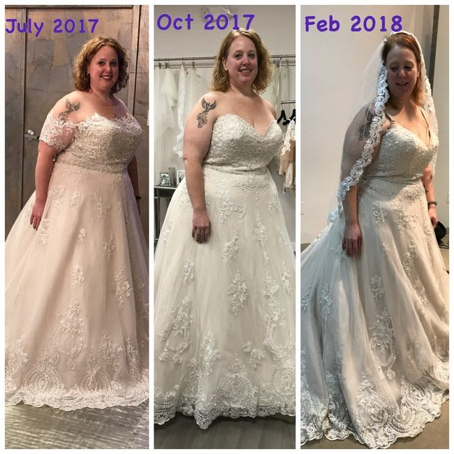 Wedding Weight Lose.Weight Loss After Dress Purchase Weddings Wedding Attire